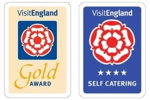 Visit England 4 Star Gold Accredited