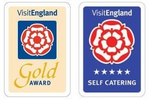 Visit England 5 Star Gold Accredited